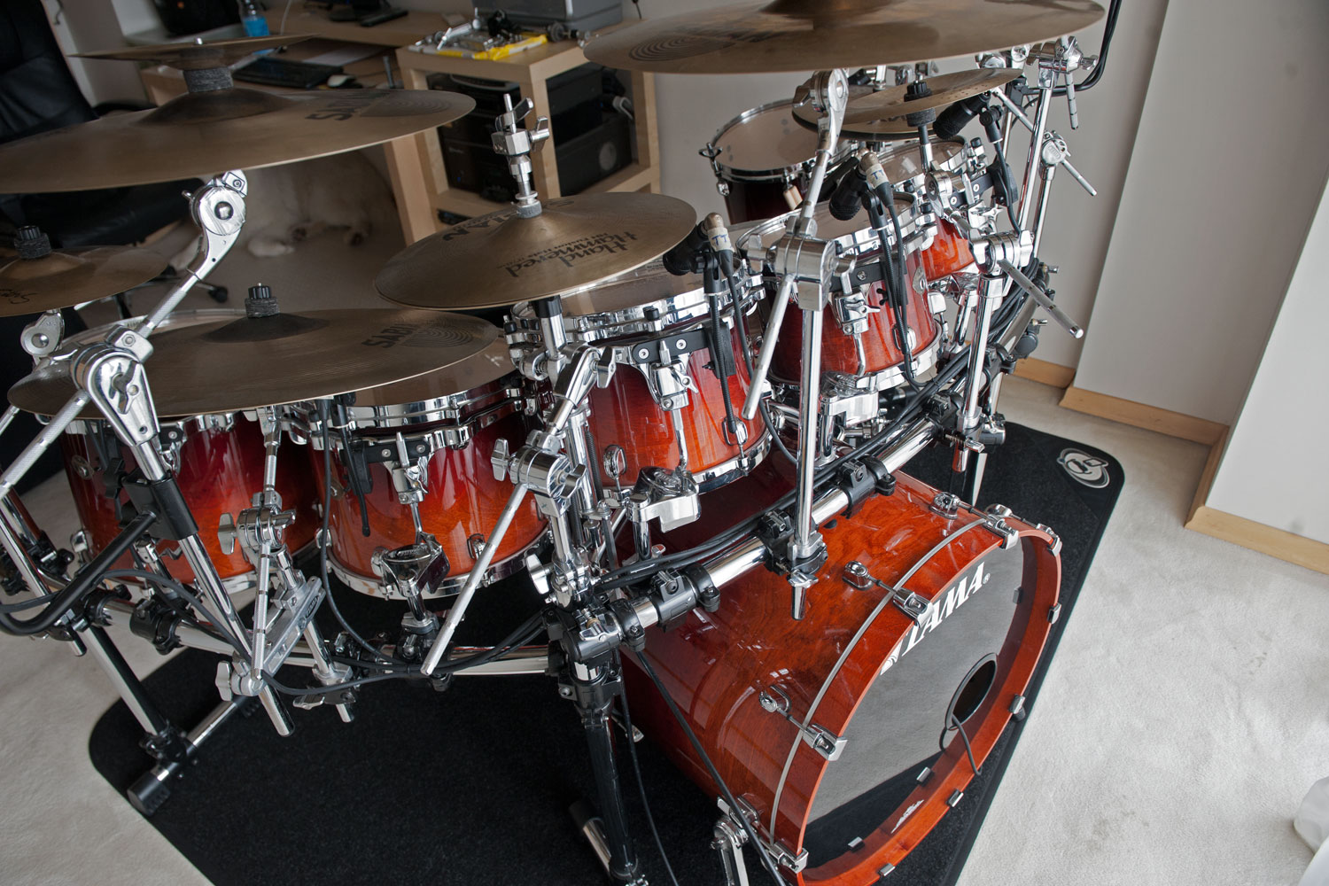 Show us your Tama kits! [Archive] - Page 2 - Pearl Drummers
